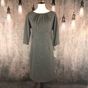 Calvin Klein Herringbone Office/Work Dress 12 NWT